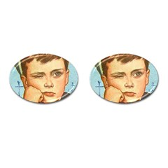 Retro 1480643 960 720 Cufflinks (oval) by vintage2030