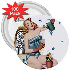 Retro 1265769 960 720 3  Buttons (100 Pack)  by vintage2030