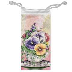 Lowers Pansy Jewelry Bag