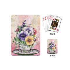Lowers Pansy Playing Cards (mini)