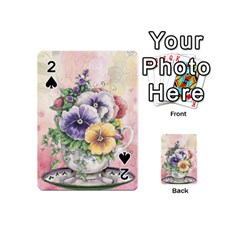 Lowers Pansy Playing Cards 54 (mini)