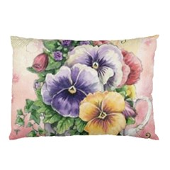 Lowers Pansy Pillow Case (two Sides)