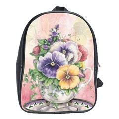 Lowers Pansy School Bag (xl)