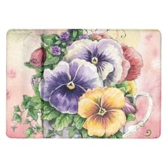 Lowers Pansy Samsung Galaxy Tab 10 1  P7500 Flip Case
