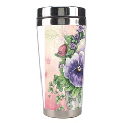 Lowers Pansy Stainless Steel Travel Tumblers