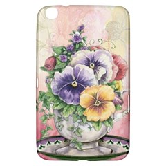 Lowers Pansy Samsung Galaxy Tab 3 (8 ) T3100 Hardshell Case