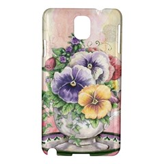 Lowers Pansy Samsung Galaxy Note 3 N9005 Hardshell Case