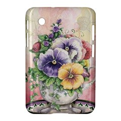 Lowers Pansy Samsung Galaxy Tab 2 (7 ) P3100 Hardshell Case