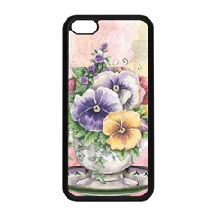 Lowers Pansy Apple Iphone 5c Seamless Case (black)