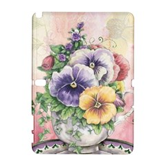 Lowers Pansy Samsung Galaxy Note 10 1 (p600) Hardshell Case