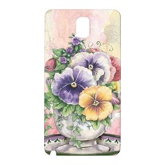 Lowers Pansy Samsung Galaxy Note 3 N9005 Hardshell Back Case
