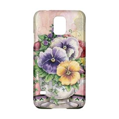 Lowers Pansy Samsung Galaxy S5 Hardshell Case