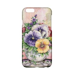 Lowers Pansy Apple Iphone 6/6s Hardshell Case