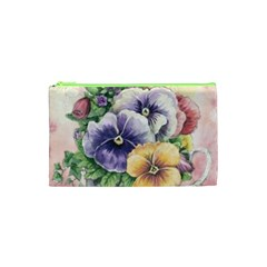 Lowers Pansy Cosmetic Bag (xs)