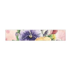 Lowers Pansy Flano Scarf (mini)