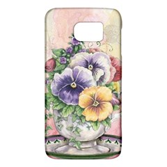 Lowers Pansy Samsung Galaxy S6 Hardshell Case