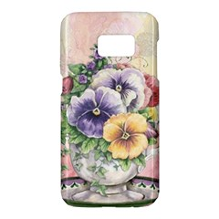 Lowers Pansy Samsung Galaxy S7 Hardshell Case