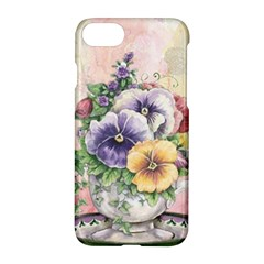 Lowers Pansy Apple Iphone 7 Hardshell Case by vintage2030