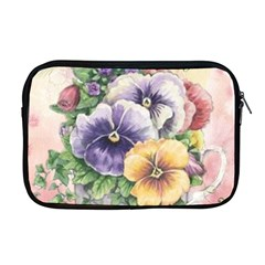 Lowers Pansy Apple Macbook Pro 17  Zipper Case