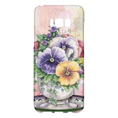 Lowers Pansy Samsung Galaxy S8 Plus Hardshell Case