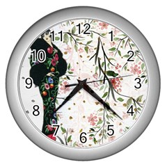 Background 1426655 1920 Wall Clock (silver)