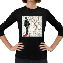 Background 1426655 1920 Women s Long Sleeve Dark T Shirt