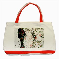 Background 1426655 1920 Classic Tote Bag (red)