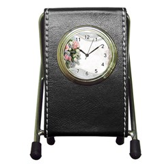 Background 1362160 1920 Pen Holder Desk Clock by vintage2030
