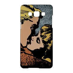 Kiss Kiss Samsung Galaxy A5 Hardshell Case  by vintage2030
