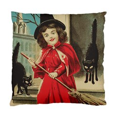 Haloweencard3 Standard Cushion Case (one Side) by vintage2030