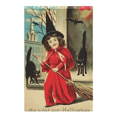 Haloweencard3 Shower Curtain 48  X 72  (small)  by vintage2030