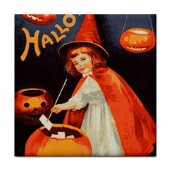 Haloweencard2 Tile Coasters