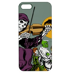 Playing Skeleton Apple Iphone 5 Hardshell Case With Stand by vintage2030