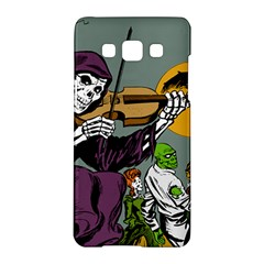 Playing Skeleton Samsung Galaxy A5 Hardshell Case  by vintage2030