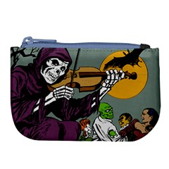 Playing Skeleton Large Coin Purse