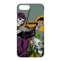 Playing Skeleton Apple Iphone 7 Plus Hardshell Case