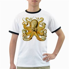 Gold Octopus Ringer T
