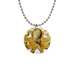 Gold Octopus Button Necklaces