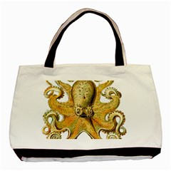 Gold Octopus Basic Tote Bag