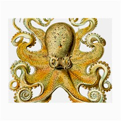 Gold Octopus Small Glasses Cloth (2 Side)