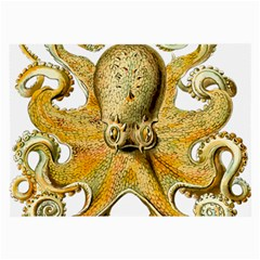 Gold Octopus Large Glasses Cloth
