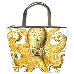 Gold Octopus Bucket Bag