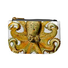 Gold Octopus Mini Coin Purse