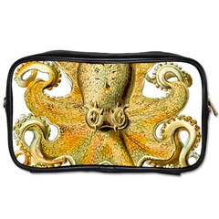 Gold Octopus Toiletries Bag (two Sides)