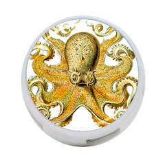 Gold Octopus 4 Port Usb Hub (two Sides)