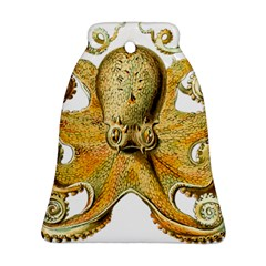 Gold Octopus Bell Ornament (two Sides)
