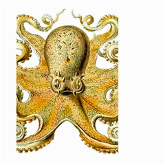 Gold Octopus Large Garden Flag (two Sides)