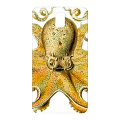 Gold Octopus Samsung Galaxy Note 3 N9005 Hardshell Back Case