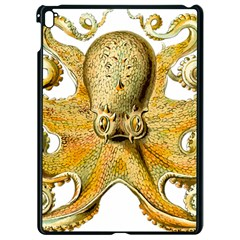 Gold Octopus Apple Ipad Pro 9 7   Black Seamless Case by vintage2030