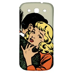 Hugging Retro Couple Samsung Galaxy S3 S Iii Classic Hardshell Back Case